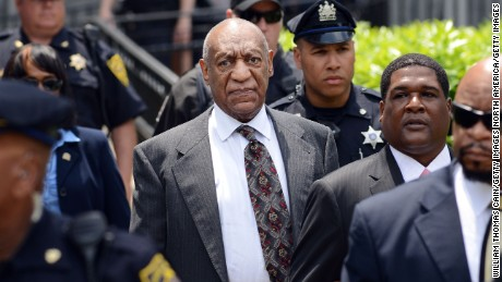 NORRISTOWN, PENNSYLVANIA - MAY 24: Actor and comedian Bill Cosby leaves a preliminary hearing on sexual assault charges on May 24, 2016 in at Montgomery County Courthouse in Norristown, Pennsylvania. Enough evidence was found to proceed with a trial, a Pennsylvania judge ruled. (Photo by William Thomas Cain/Getty Images)