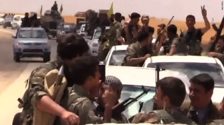 Kurdish-Arab alliance battles ISIS for Raqqa