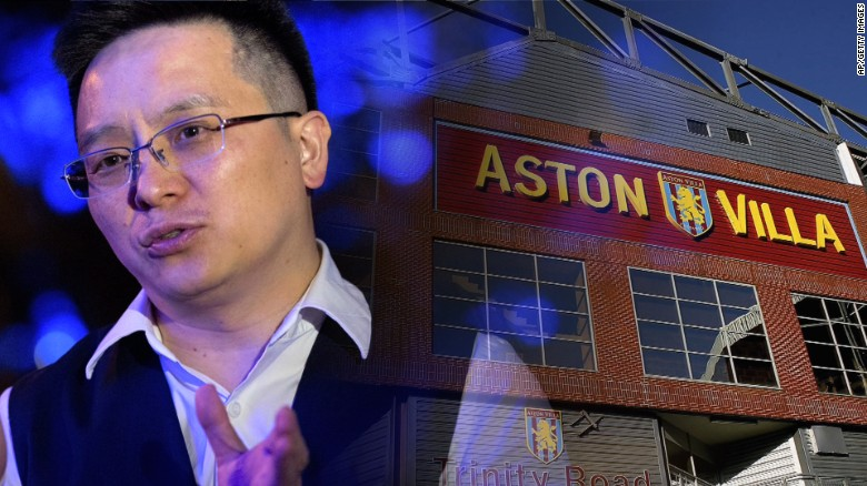 Aston Villa's new owner enthusiastic about team