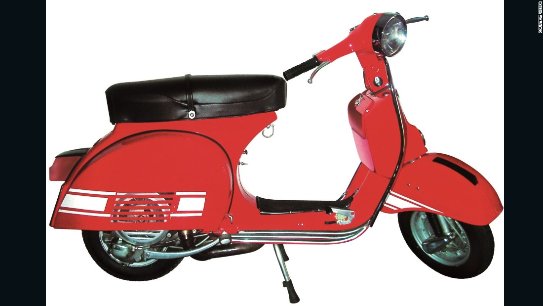 The sporty 1976 200 Rally was a further appeal to those who appreciated the opportunity to compete against other scooter owners.