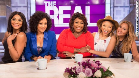 "Tamar Braxton, Tamera Mowry-Housley, Loni Love, Jeannie Mai and Adrienne Bailon hosted ""The Real"" for two seasons."