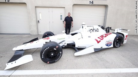 Rev. Will Marotti worked with Schmidt Peterson Motorsports to put Marotti Racing in the 100th running of the Indy 500.