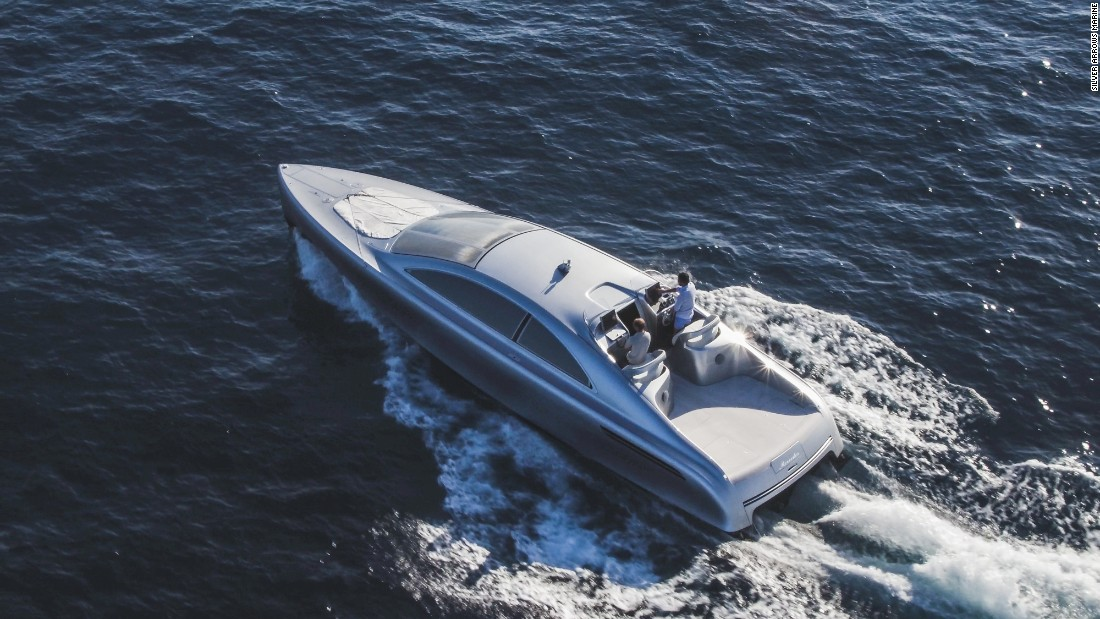 """In developing the new motor yacht, we have transferred our expertise to the marine industry, creating something never seen before in the process,"" Wagener said. ""We wanted to create something special and what we have come up with is indeed unique."""