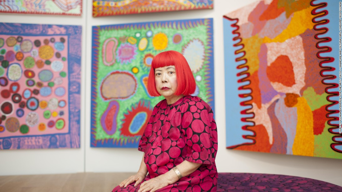 "Japanese artist Yayoi Kusama's new works were <a href=""http://edition.cnn.com/2016/05/25/arts/yayoi-kusama-victoria-miro/"" target=""_blank"">exhibited at Victoria Miro Gallery</a>. Spanning the gallery's three London locations, it was the largest exhibition of the artist's work to come to Britain since her retrospective at <a href=""http://www.tate.org.uk/whats-on/tate-modern/exhibition/yayoi-kusama"" target=""_blank"">Tate Modern in 2012</a>."