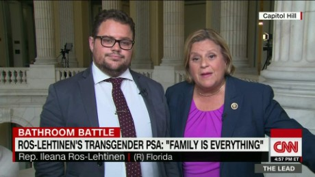 Rep. Ros-Lehtinen explains support for transgender rights