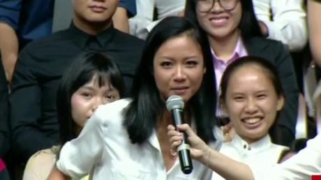 Obama and Vietnam's 'Queen of Hip Hop'