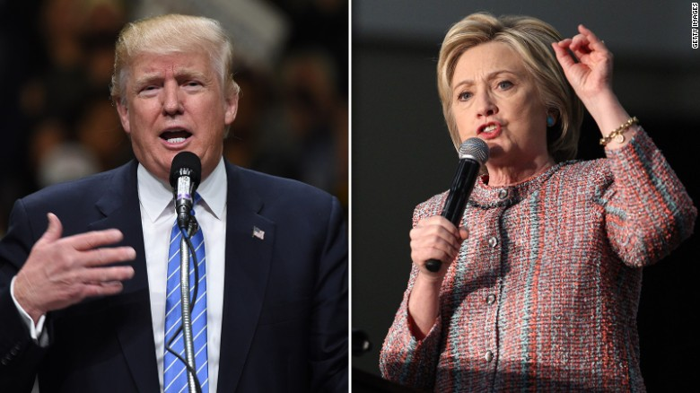 Donald Trump vs. Hillary Clinton (Round One)