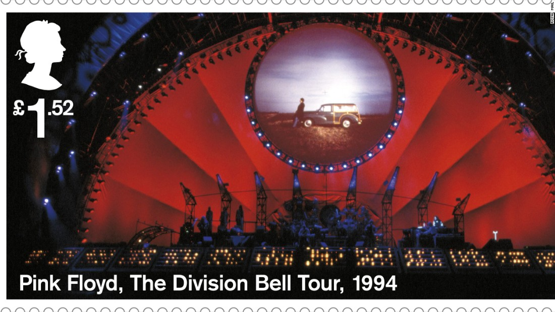 "The ""Division Bell"" tour of 1994 was one of the band's most successful, grossing almost $100 million."
