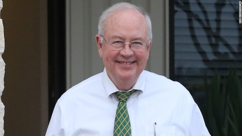 Ken Starr, of the President Bill Clinton scandal fame, was fired as Baylor president.