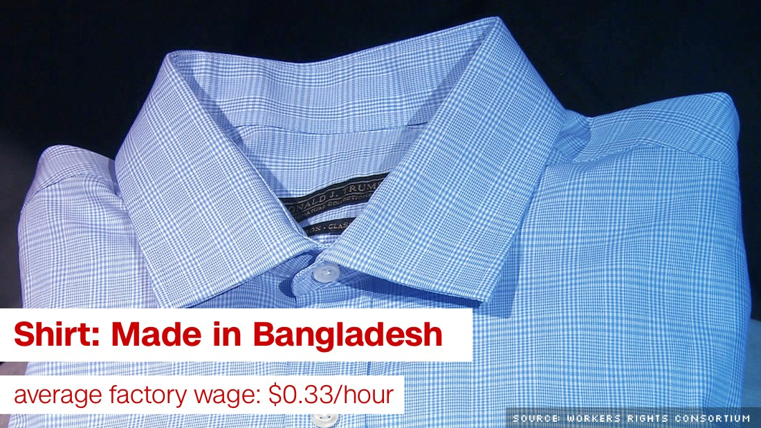 Donald Trump sought cheap labor overseas for clothing lines ...