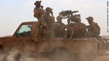 First on CNN: Four US military advisers wounded in Syria