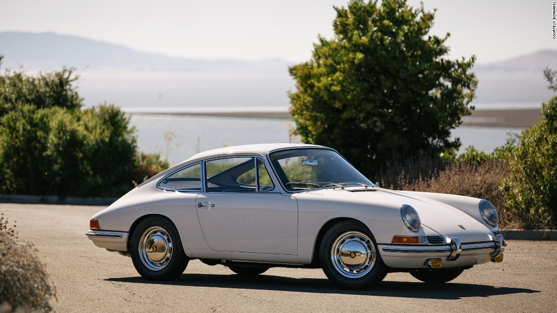 The first available production model of the Porsche 911.