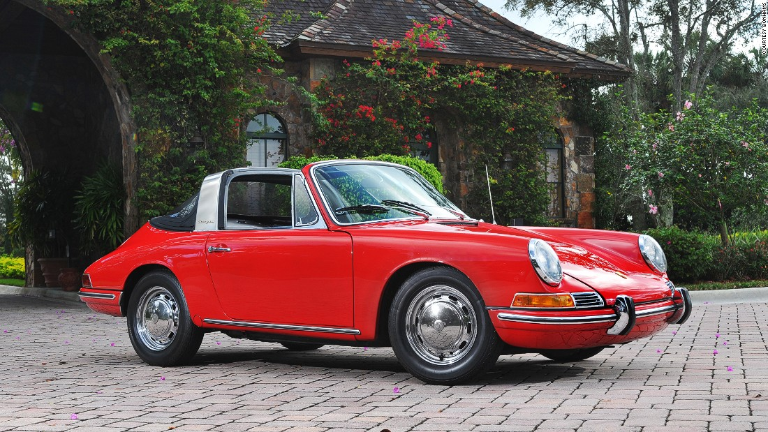 The first Porsche 911 with a targa top.