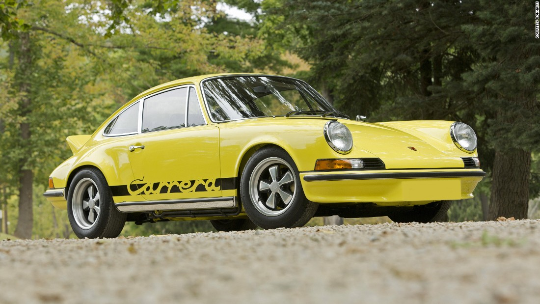 The first Carrera, a dual-sport RS 2.7 specification car, named for the grueling Carrera Panamericana race in which Porsche excelled.