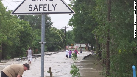 Texas ravaged by floods