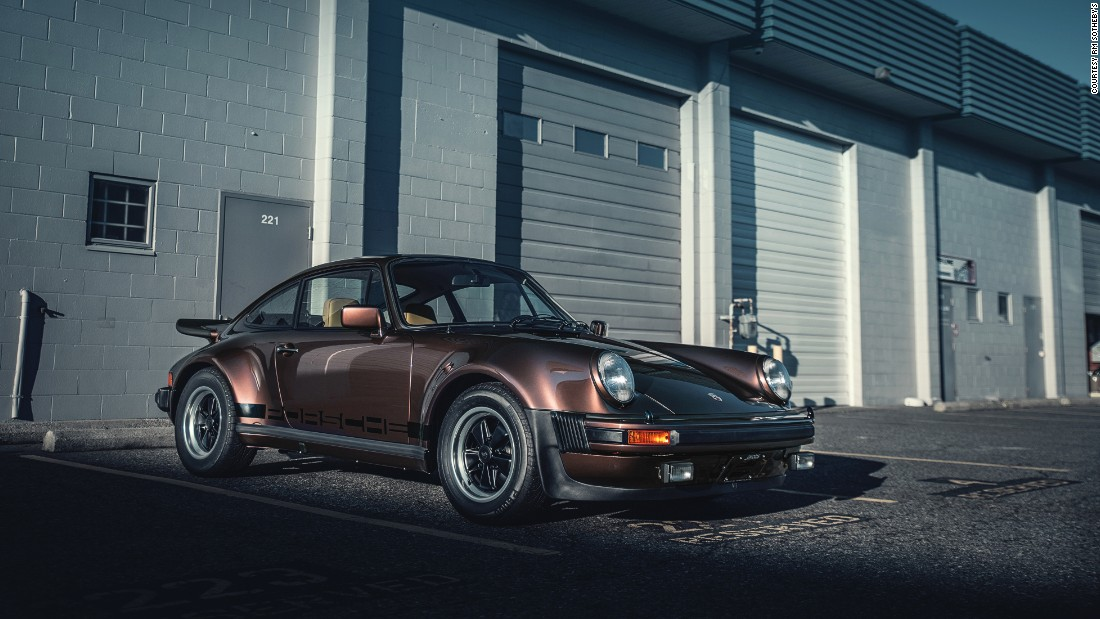 The first turbo-charged production Porsche.