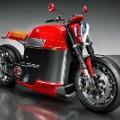 electric motobike tesla concept 2