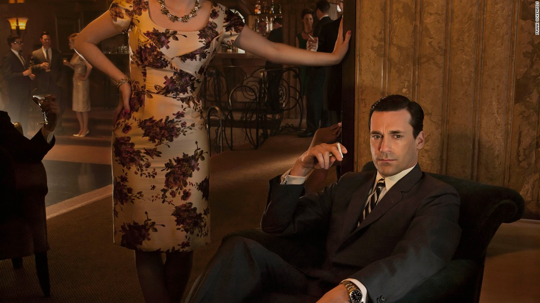 "Jon Hamm as Don Draper in ""Mad Men"" was dapper but emotionally brutal."