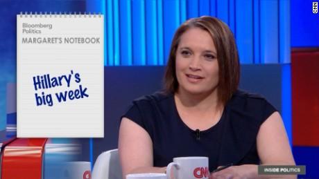 Hillary Clinton's big week