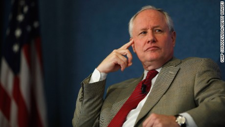 "The Weekly Standard Editor William Kristol leads a discussion on PayPal co-founder and former CEO Peter Thiel's National Review article, ""The End of the Future,"" at the National Press Club October 3, 2011 in Washington, DC."