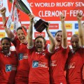 canada celebrates women's sevens