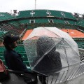 French Open rain