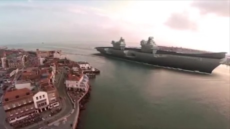 See Britain's huge new aircraft carriers