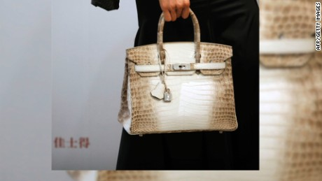 World's most expensive handbag ever sold Birkin