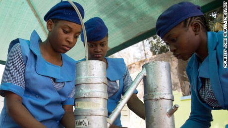 The girls learning science in defiance of Boko Haram