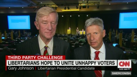 Libertarian candidates Johnson, Weld seek middle ground_00015815
