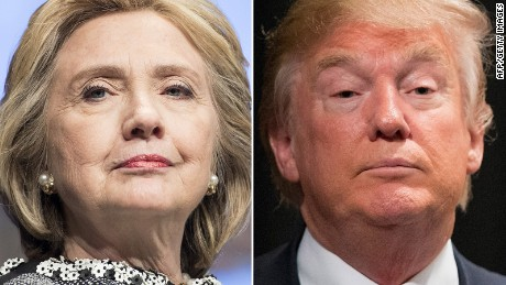 Clinton burying Trump: $42 million to $1.3 million