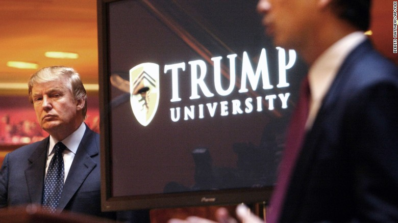 Ex-employees describe Trump University as a scam