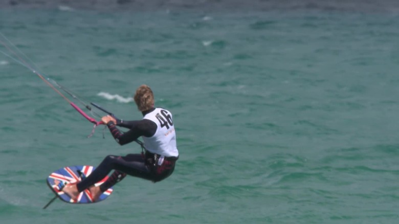 Is kitesurfing the next Olympic sport in 2020?