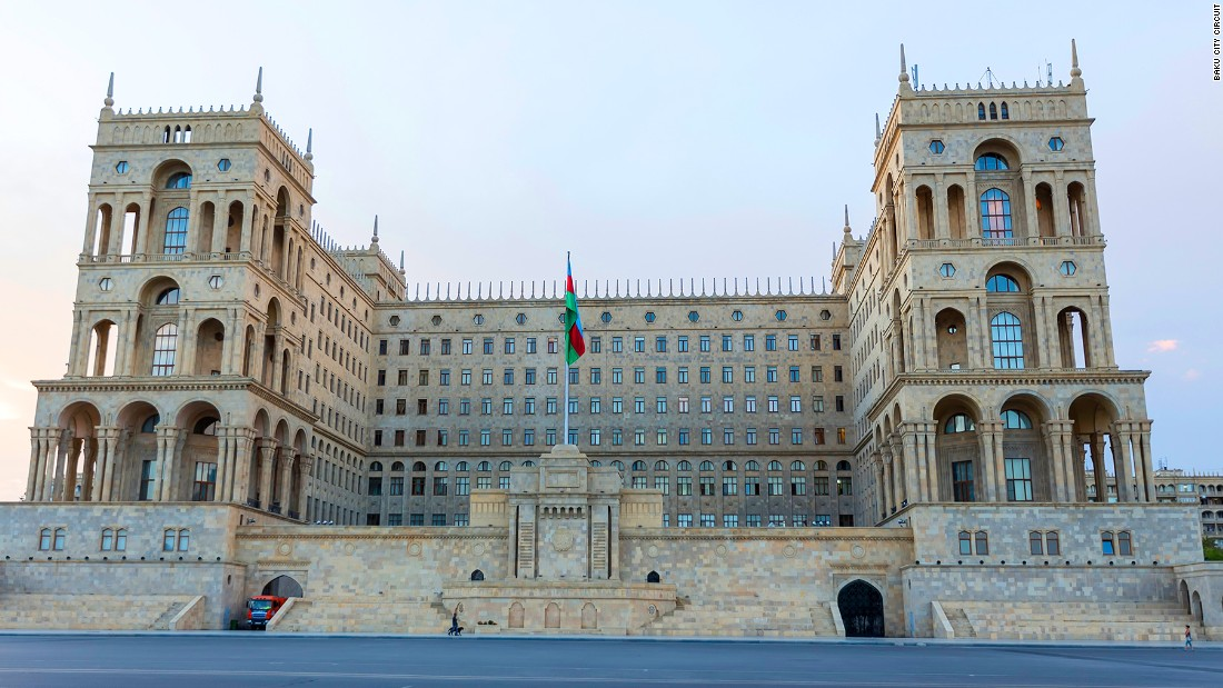 The Presidential Palace in Baku will form part of the backdrop for the city's first F1 race.