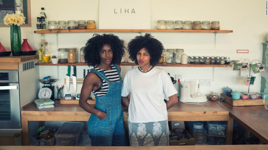 """""""People needed to get used to the idea of it being 100% natural and organic and learn how to use it from scratch,"""" explains Okunniwa (right). """"It's a great skill to be confident using essential oils, experimenting and having fun in your kitchen."""""""