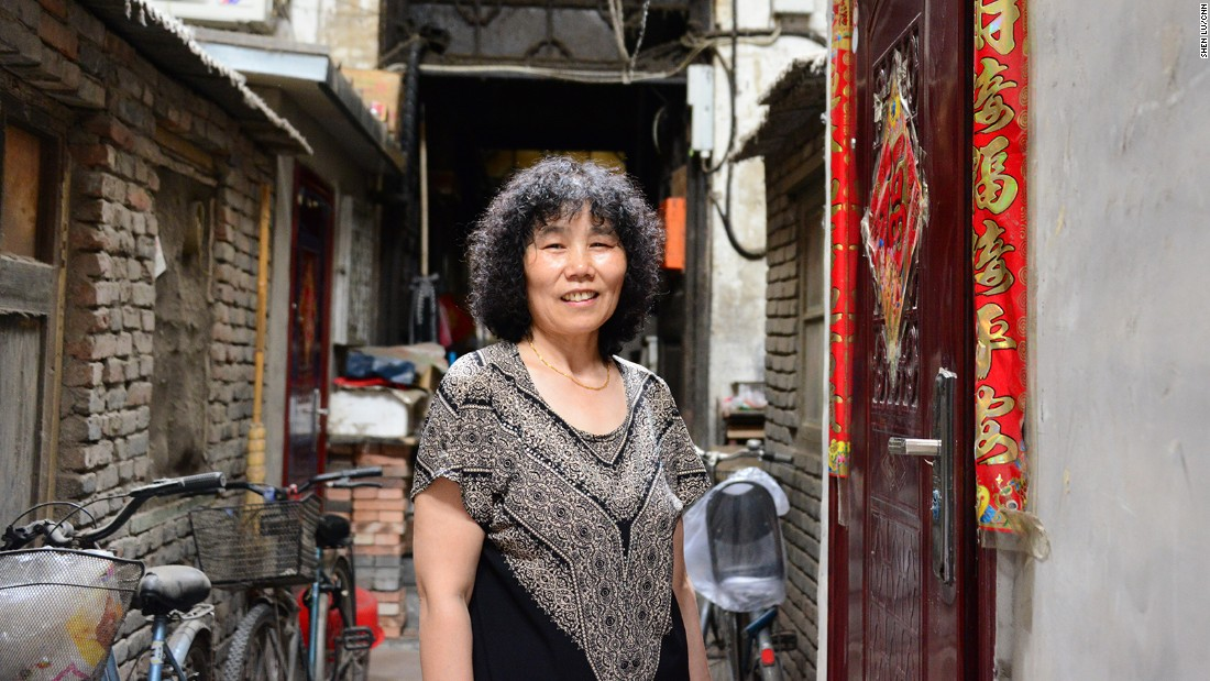 Their neighbor Liu Junrong, 54, has been a resident since 1989.
