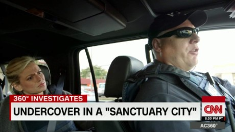CNN ride along with ICE team arresting undocumented immigrants
