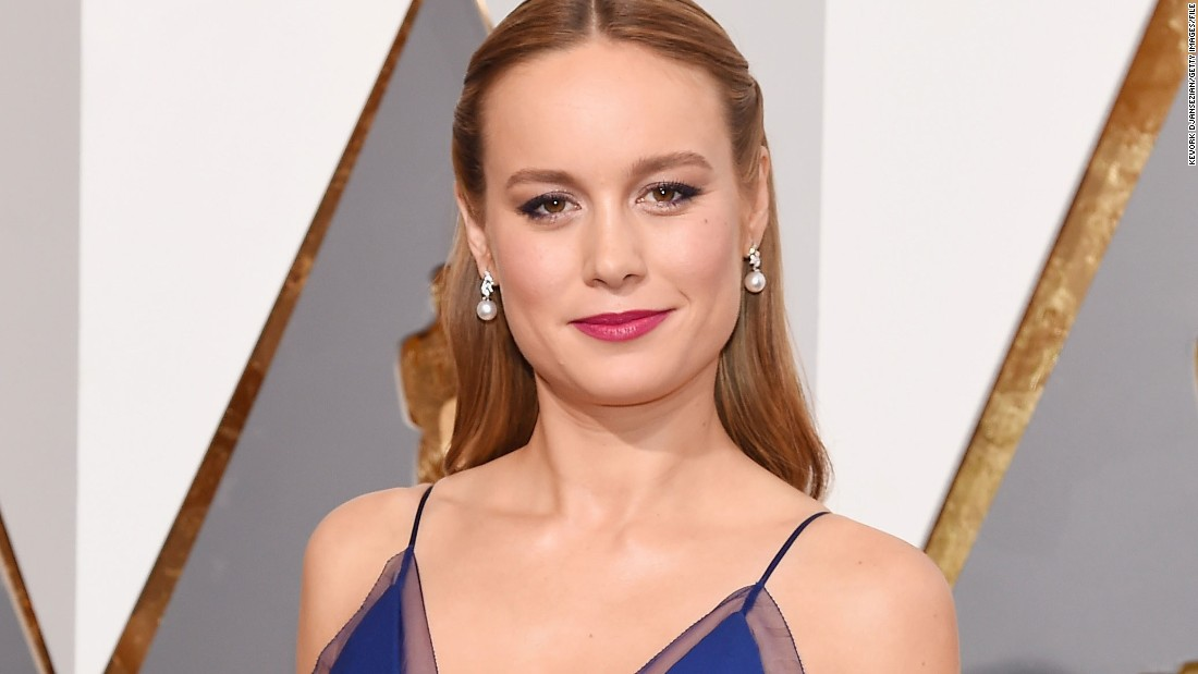 "Brie Larson be take on the role of Captain Marvel in a film set to release in 2019. Larson won the best actress Oscar this year for her performance in ""Room."""