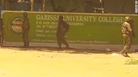 Photo from the attack on Garissa University in April 2015