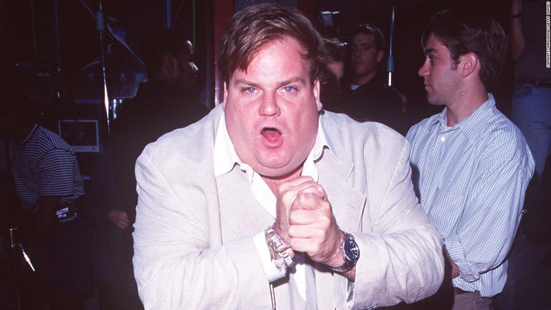 Comedian and actor Chris Farley, who launched his career on Saturday Night Live, died in December 1997 of a combination of the opioid morphine and cocaine, complicated by heart disease. He was 33 years old.