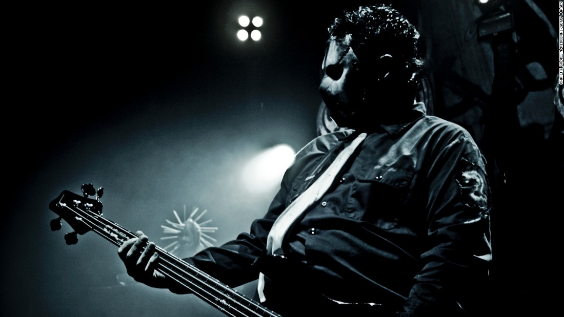 Paul Gray, bassist for the metal band Slipknot, died of an overdose of morphine and fentanyl in 2010. He was 38 years old.