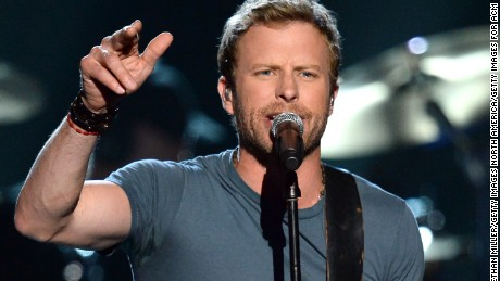 Recording artist Dierks Bentley performs onstage during ACM Presents: An All-Star Salute To The Troops at the MGM Grand Garden Arena on April 7, 2014 in Las Vegas, Nevada.