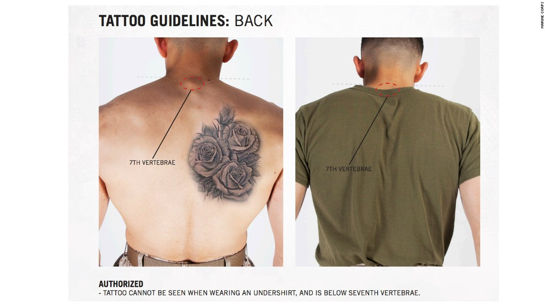 marines ink new tattoo rules cnnpolitics