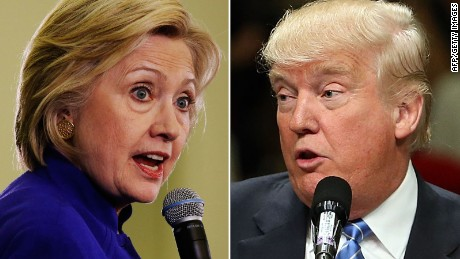 Clinton, Trump and Elizabeth Warren spar on Twitter