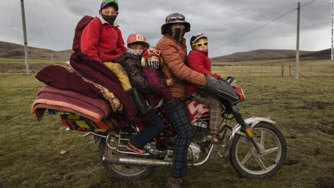 For Tibetans, who usually scratch a living farming and herding, the harvest, which lasts several weeks, is an important way to earn money.