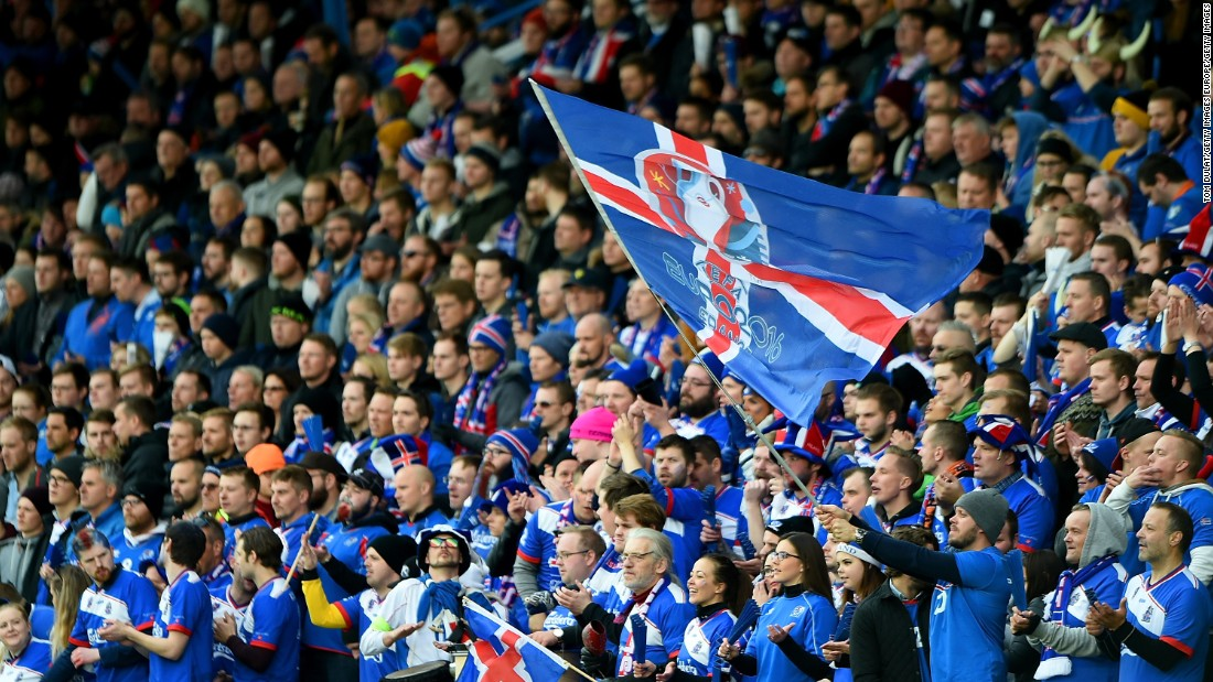 Iceland's fans slowly grew in numbers as belief as their qualifying campaign unfolded. More than 8% of the entire country applied for Euro 2016 tickets.