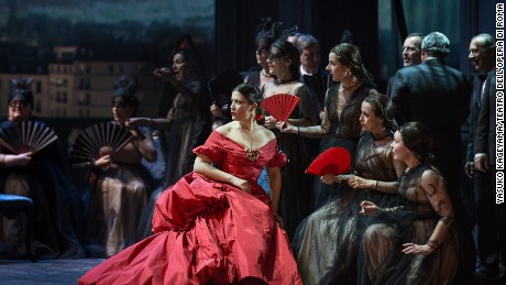 Valentino brings fashion to the opera with a new take on 'La Traviata'