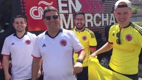 cnnee en marcha aficionados colombianos levi stadium_00000707