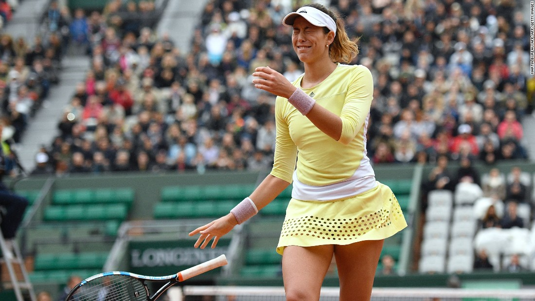 She will meet Spain's Garbine Muguruza after the world No. 4 beat 2010 French Open finalist Sam Stosur 6-2 6-4.