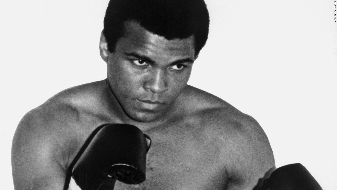 "<a href=""http://www.cnn.com/2016/06/04/world/muhammad-ali-obituary/index.html"" target=""_blank"">Muhammad Ali</a>, the three-time heavyweight boxing champion who called himself ""The Greatest,"" died June 3 at the age of 74. Fans on every continent adored him, and at one point he was the probably the most recognizable man on the planet."